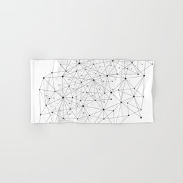 Networks concept and cloud computing, structure of society, variants of decisions, neural network Hand & Bath Towel