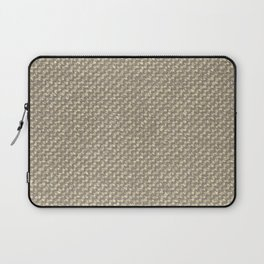 Tan Webbing Laptop Sleeve