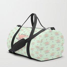 Baby Stegosaurus Duffle Bag