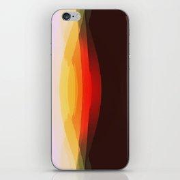 Warm Retro Abstract iPhone Skin