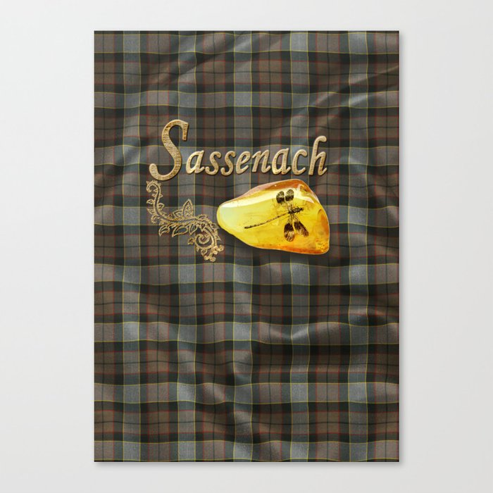 Sassenach (Outlander) Canvas Print