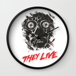 They Live - Obey Wall Clock