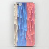 fringe iPhone & iPod Skins featuring Fringe (Blue) by Jacqueline Maldonado