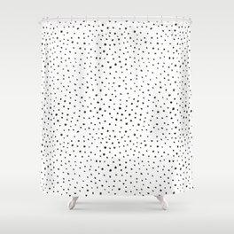 dalmatian print Shower Curtain