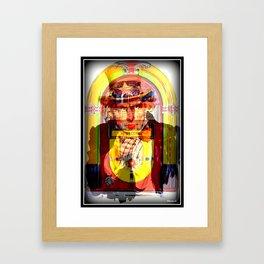 Uncle Sam Says.. Rock-n-Roll Framed Art Print