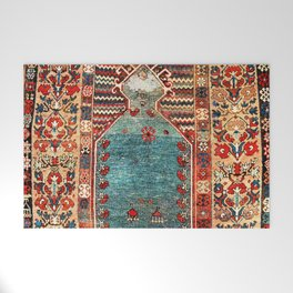 Kurdish East Anatolian Niche Rug Print Welcome Mat