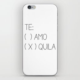 Tequila iPhone Skin