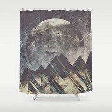 Sweet dreams mountain Shower Curtain