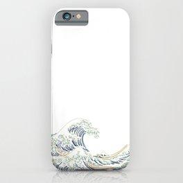 Minimal Wave iPhone Case