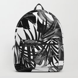 Tropical Jungle Leaves Pattern #10 #tropical #decor #art #society6 Backpack