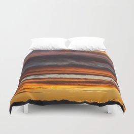 Montana Sunset Duvet Cover