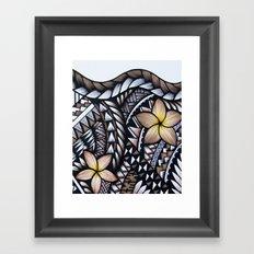 Samoan Beauty Framed Art Print