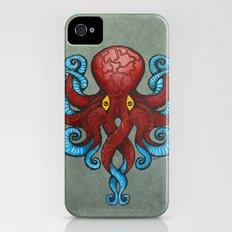 Red Dectopus Slim Case iPhone (4, 4s)