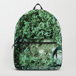 GREEN PICTURE OF A TIRE Backpack