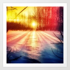 Take The Prismatic Path (001) Art Print