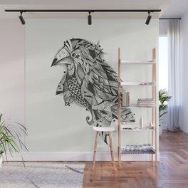 bird lines Wall Mural