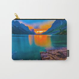Montana lake hiking Carry-All Pouch