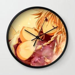 Winking Wall Clock