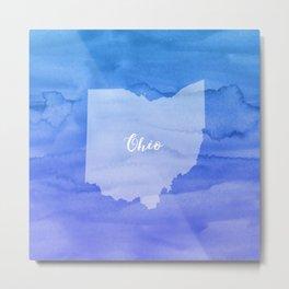 Sweet Home Ohio Metal Print