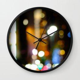 '42nd STREET'S BRIGHT LIGHTS' Wall Clock