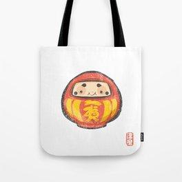 Daruma [Special Lucky Toy Box] Tote Bag