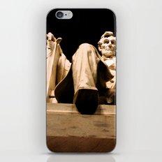 Lincoln stirs iPhone & iPod Skin