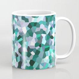 Turquoise Mosaic Pattern Coffee Mug