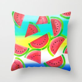 Summer Feelings Throw Pillow