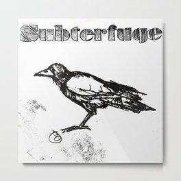 Subterfuge logo Metal Print