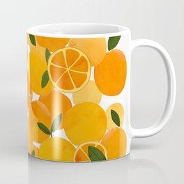 mediterranean oranges still life  Coffee Mug