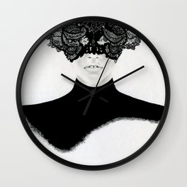 Lara - the fearless lover Wall Clock