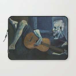 Pablo Picasso - The Old Guitarist Laptop Sleeve