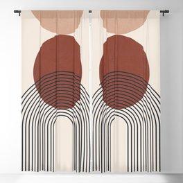 Minimal Geometric Shapes 151 Blackout Curtain