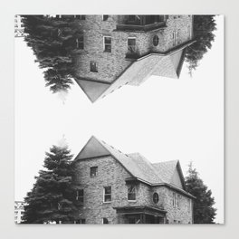 up:house:down Canvas Print