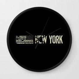Black Flag: New York Wall Clock
