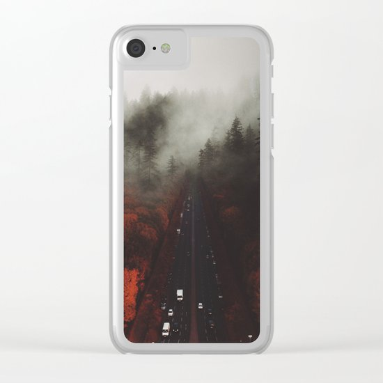 Coexist Clear iPhone Case