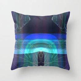Symmetrical Nest 11 I - I Throw Pillow