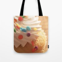 cupcake Tote Bags featuring cupcake by Susigrafie