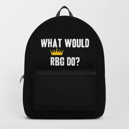 What Would RBG do? Backpack