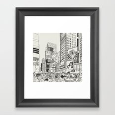 The Heart Beats In Its Cage Framed Art Print