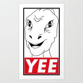 YEE Art Print