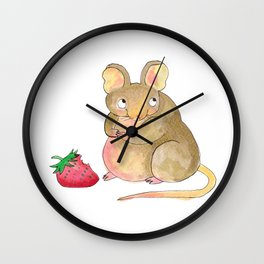 Gustav The Mouse (1/3) Wall Clock