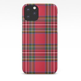 Red Tartan iPhone Case