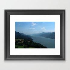 Oregon - USA. Framed Art Print