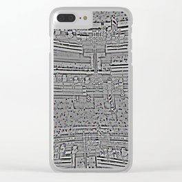 VOYAGES TERMINES Clear iPhone Case