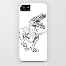 Shoot Haaa iPhone Case