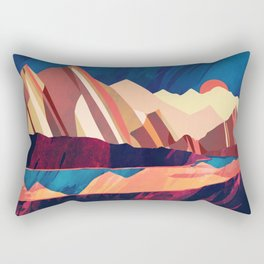 Desert Valley Rectangular Pillow