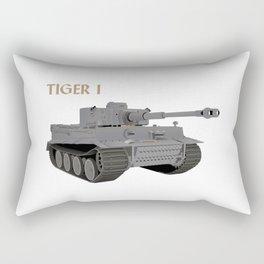 Tiger I German WW2 Tank Rectangular Pillow