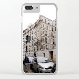 Les rues de Paris Clear iPhone Case