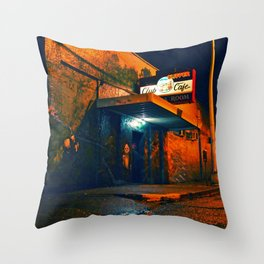 Olympia's Clipper Throw Pillow